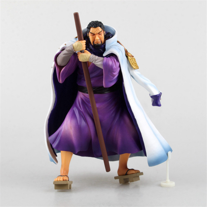 Anime One Piece POP Fujitora Isshiou Juguetes PVC Action Figure Collectible Brinquedos Model Kids Toys 24CM game figure 10cm darius the hand of noxus pvc action figure kids model toys collectible games cartoon juguetes brinquedos hot