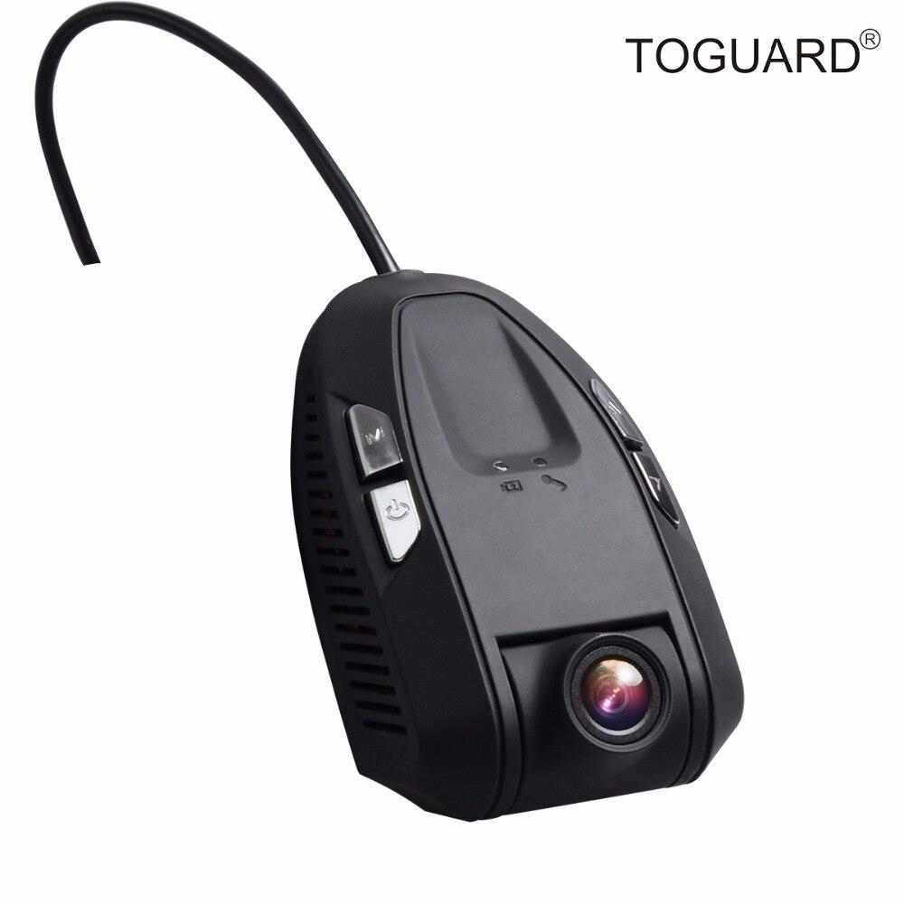 ФОТО TOGUARD Hidden WiFi Stealth Car Dash Cam with Novatek 96655 Chip, SONY IMX322 Sensitive Chip Covert 1920*1080P Full HD Car Cam