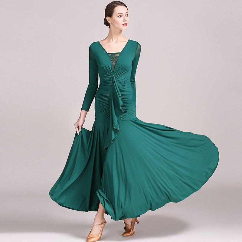 0c4104364 Disfraces de baile español para mujer falda de baile Flamenco falda de  danza del vientre ropa