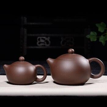 120/300 ML Yixing Paarse Klei Theepot Ruwe Erts Paars Modder Xishi Pot Vintage Drinkkware Kung Fu Tea Set Yixing Potten Voor Verjaardagscadeau