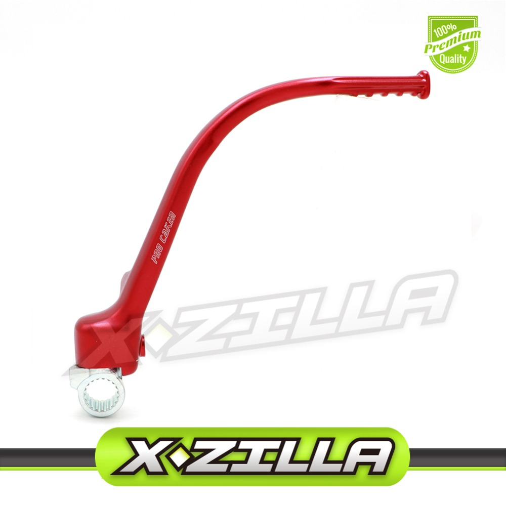 New Forged Kick Start Starter Lever Pedal Arm For CRF450R CRF 450R 09-16 Motocross Dirt Bike Off Road Red