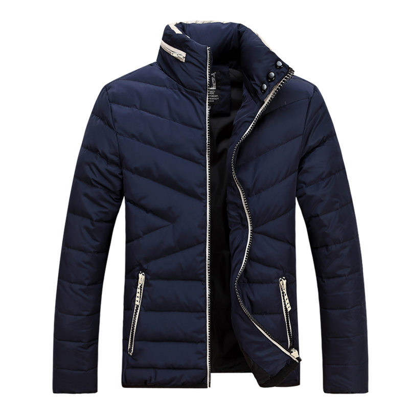 Подробнее о Chaqueta Hombre Top Fashion Cotton Stand Down Jackets Winter Jacket Men 2017 Mens Down Parka New Double Collar Warm Tricolor men s down jackets mens brand thick warm fur collar hooded duck men cotton padded male casual winter jacket men chaqueta hombre