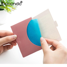 50 шт. тканевая бумага s для снятия макияжа впитывающая масло бумага для лица милый мультфильм, Корея впитывает впитывающий для лица очищающий лосьон инструменты
