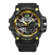 Moda Reloj Masculino Impermeable Natación Buceo Reloj Militar Hombres Relojes Deportivos orologio subacqueo relojes hombre