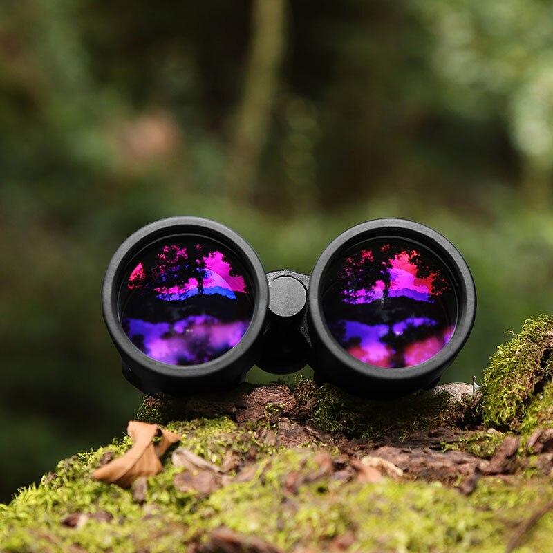 Nouvelles jumelles 10x42 avec verre ED Ultra HD étanche binoculaire haute puissance Phase enduit BAK4 télescope adultes chasse en plein air