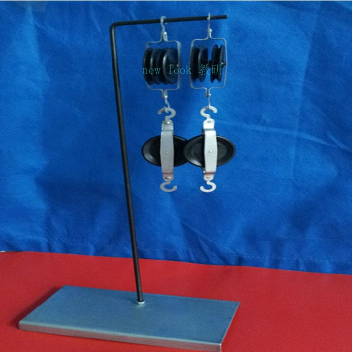 Pulley block and bracket metal material 16 * 8 * 36CM physical mechanics experimental teaching equipment wind formation demonstration box mechanics science and education teaching aids physical science inquiry and demo