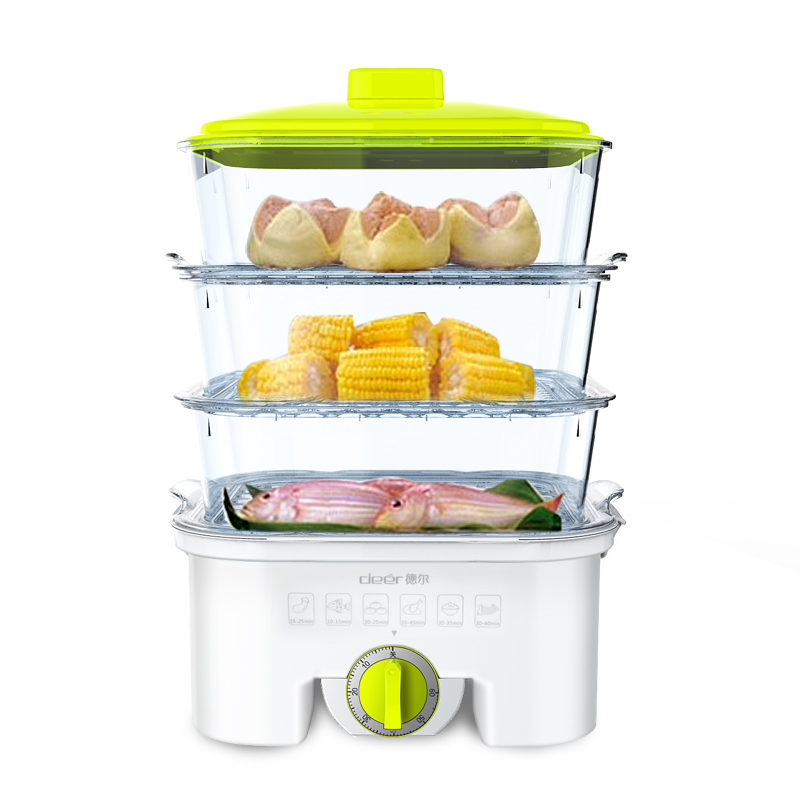 free shipping multi function three layer large capacity electric food steamers electric steamer china