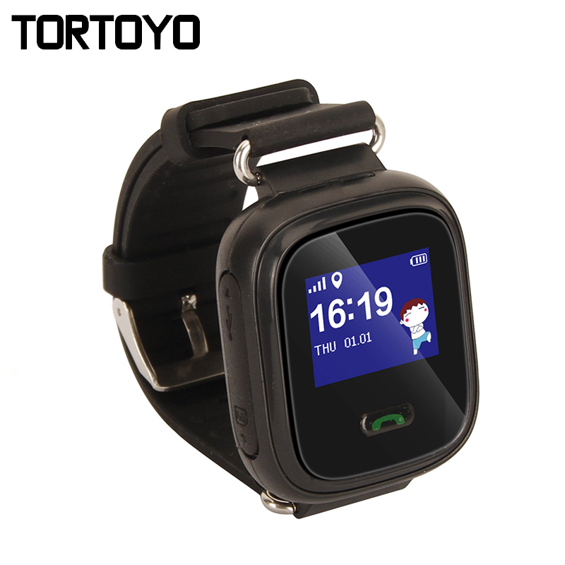 TORTOYO Q60 Kid Smart Watch Phone LBS GPS Positioning Tracking Smartwatch SOS Call Chat Baby Anti Lost Monitor Baby Gift PK Q50