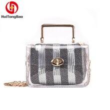 Fashion Women Transparent Jelly Bags Crossbody Clear Luxury Handbags Woman Bag Designer Shoulder Party Shopping Beach Handbag стоимость