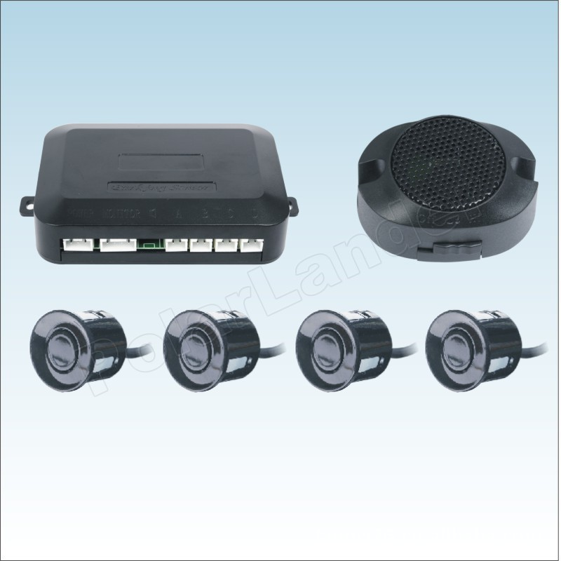 1 satz Auto Parkplatz Sensor Kit 4 Sensoren Umge Assistance Backup Radar ton alarm System 44 farben für option
