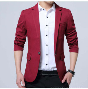 Image 2 - Mwxsd brand Mens casual slim fit solid suit Blazer jacket men wedding dress blazer male black suit hombre blazer masculino
