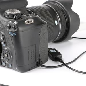 Image 5 - 5V USB ACK E10 kabel zasilający zasilacz LP E10 imitacja baterii DR E10 DC łącznik uchwyt do Canon EOS 1100D 1200D 1300D X50 X70 T3