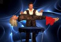 Левитация губка 360 супер большой этап Волшебные трюки Professional волшебный трюк реквизит Иллюзия ментализм плавающий Fly Magia