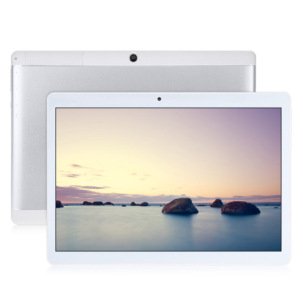 New Teclast X10 Quad Core 3G Phablet 10.1 Inch 1280*800 IPS Screen 5MP Dual Cams Android 6.0 MT6580 1GB RAM 16GB ROM Tablet PC teclast p98 9 7 ips octa core android 4 4 3g tablet pc w 2gb ram 16gb rom dual cam tf gold