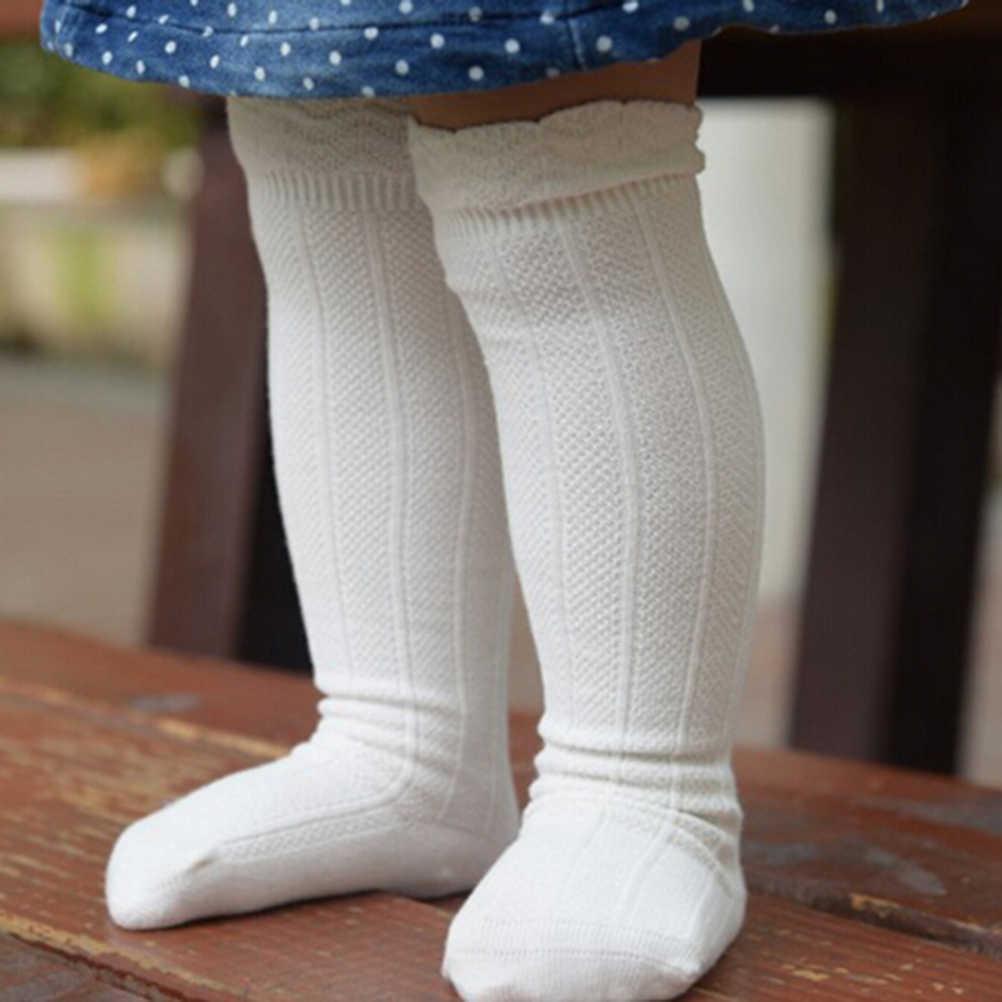 Dziewczyny maluch kolana wysokie koronkowe skarpety długie śliczne getry Fox skarpetki noworodki dziecięce dziecięce dziecięce jesienne skarpetki