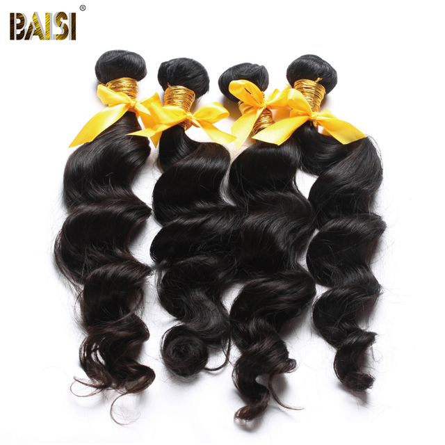 Unprocessed virgin hair free shipping, Peruvian virgin hair loose wave,top Grade,human hair extension. 3pcs/lot ,color 1b#,8-30""