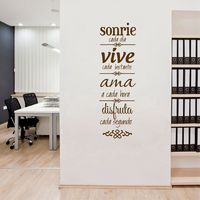 Free Shipping Spanish House Rules Wall Sticker Home Decoration NORMAS DE CASA Vinilos Decorativos SPS 13