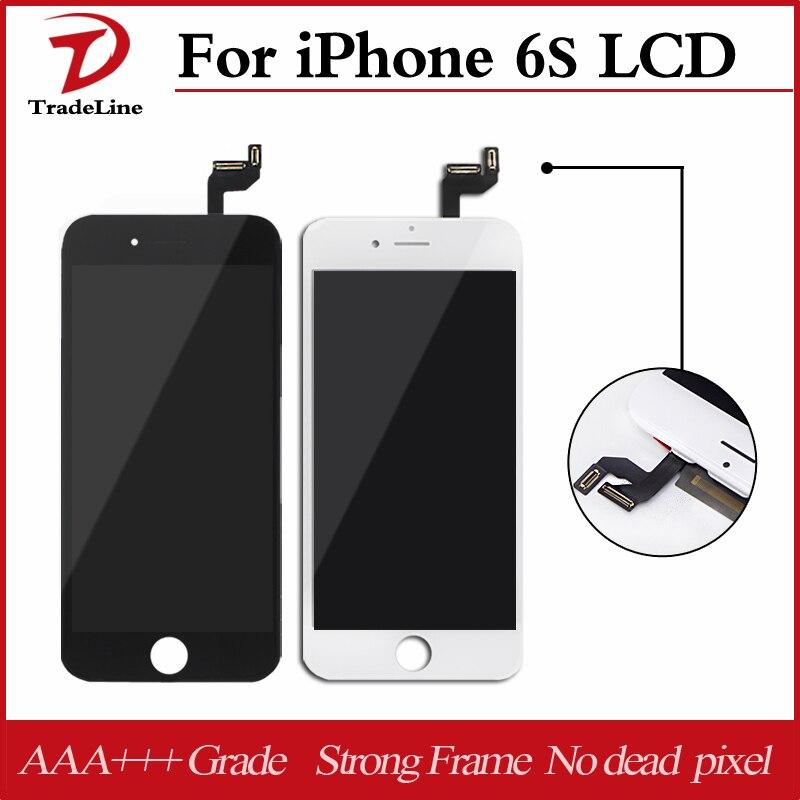 imágenes para AAA + + + Para Apple iPhone 6 S Pantalla LCD de Repuesto de Pantalla de Pantalla Digitalizador Asamblea No Dead Pixel Envío Libre