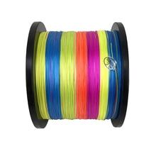 500m Fishing Line Fiber From Japan 8 STRANDS Colorful braided fishing line multifilament fishing line 15 20 30 40 50 60 80LB