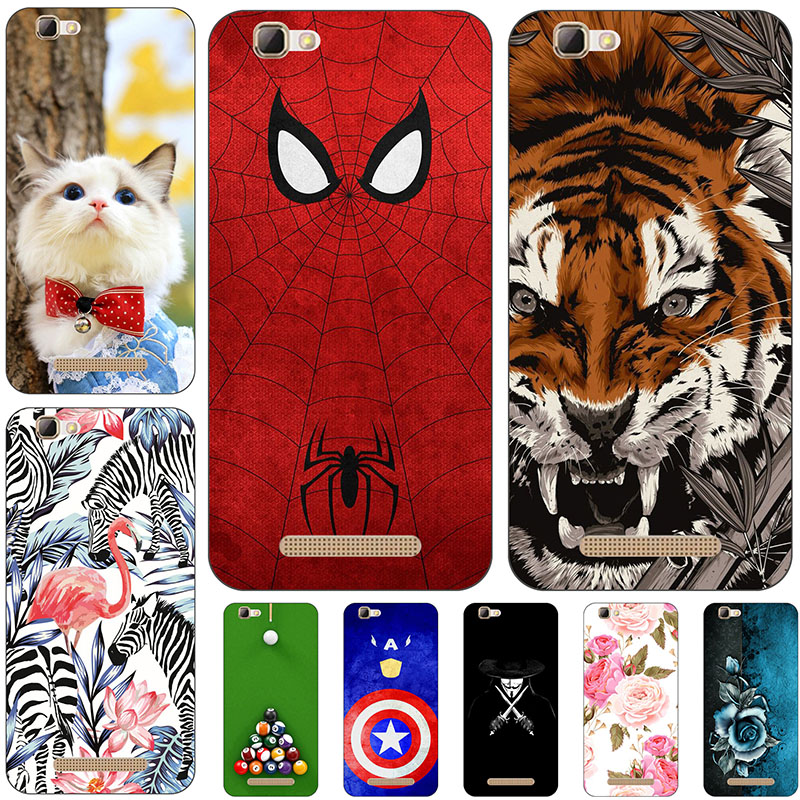 Lovely Cartoon Phone <font><b>Cases</b></font> <font><b>For</b></font> <font><b>ZTE</b></font> <font><b>Blade</b></font> A610 A 610 <font><b>A610C</b></font> Soft Silicone <font><b>Case</b></font> Animal Pattern Cover Coque Fundas image