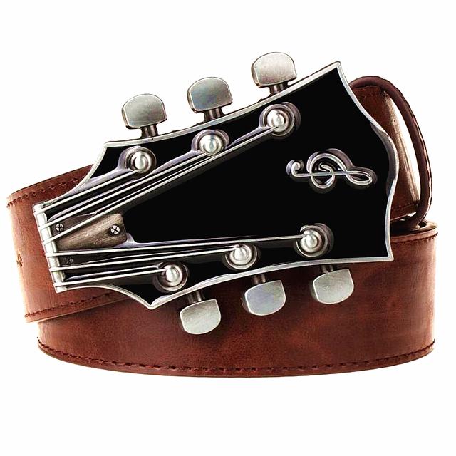 Men's Retro Guitar Belt