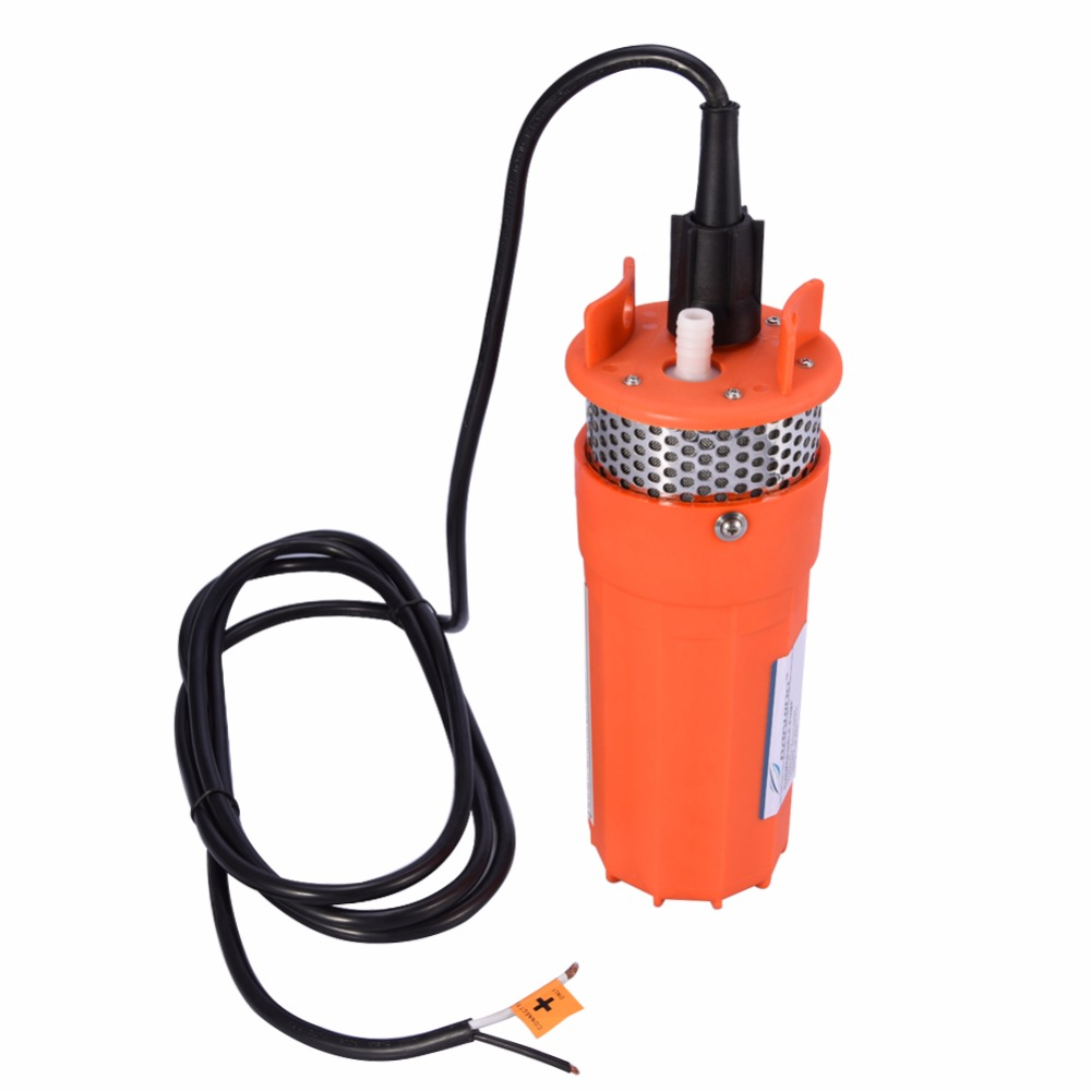 1/2Inch 12V Submersible Pump Submersible Deep Well Water DC Pump Alternative Energy Solar Powered Pump