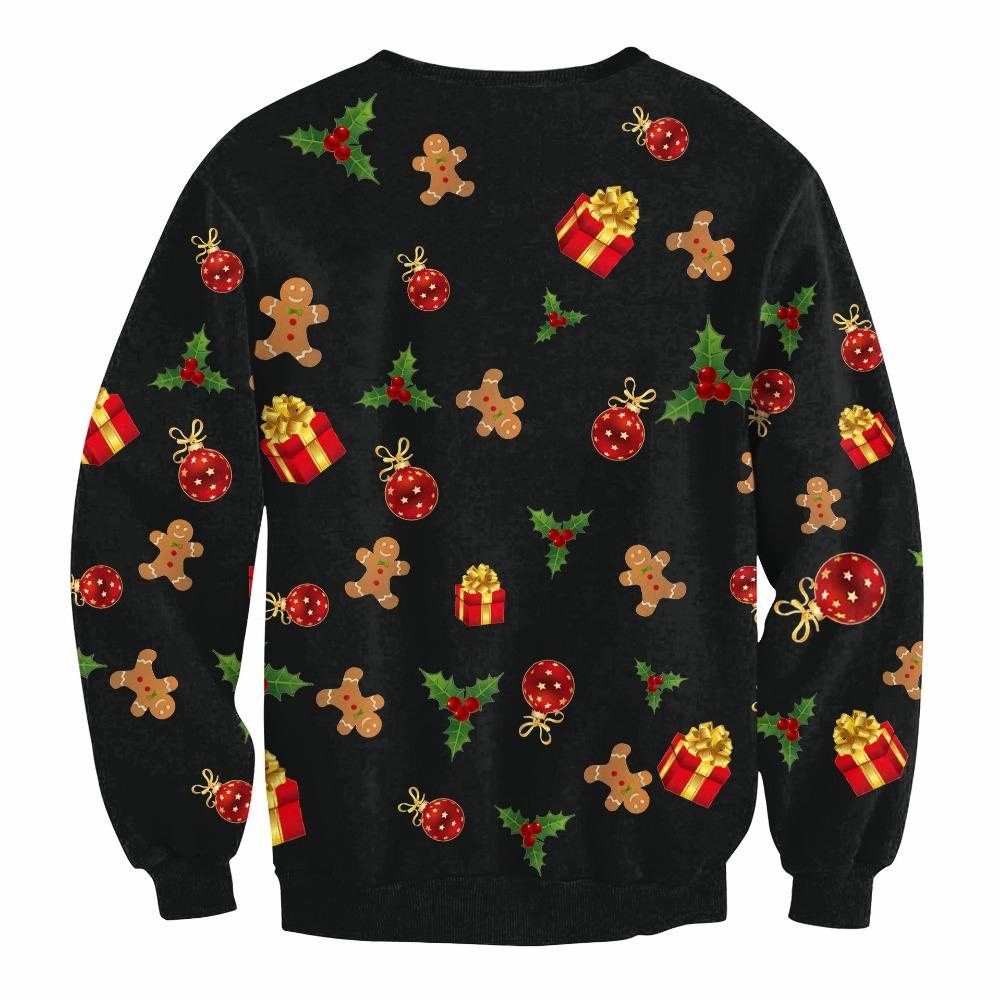 HTB1HBv3oRUSMeJjy1zjq6A0dXXaK - Christmas Patton Sweater Santa Claus Cute Print Pullover Sweater Jumper Outwear Women's Patterns of Reindeer Snowman Christmas PTC 286