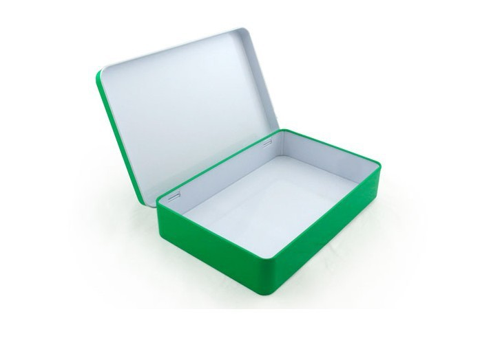 Free shipping mm colorful rectangle tin box