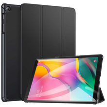 BOZHUORUI Case voor Samsung Galaxy Tab EEN 10.1 Tablet 2019 Release, model SM-T510/SM-T515 Slim fit stand cover handsfree bekijken(China)