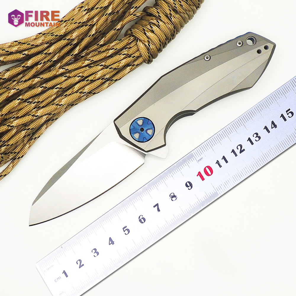 SHINACE 0456 Tactical Folding Knives CTS 204P Blade Titanium Handle Ball Bearing Camping Knife Outdoor Pocket Survival EDC Tools vellance a2 folding blade pocket knives m390 vg10 blade titanium handle ball bearing knife tactical camping survival knife tools