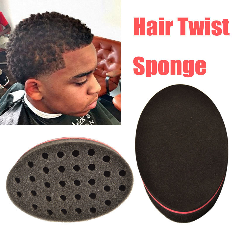 Elera 3 Pieces Magic Twist Hair Sponge Curl Brush Style Tools Afro Coil Wave Brushes In Braiders From Beauty