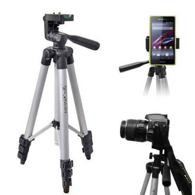 34eb668e8 Lightweight Telescopic Camera Tripod Stand Holder for Gopro DSLR for  Smartphone Action Camera Mount Monopod Holder