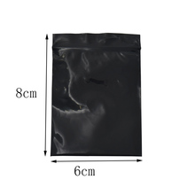 6*8cm Small Black Reclosable Zip Lock Plastic Package Bag 300pcs/lot Grip Seal Packing Pouch Retail Grocery Gift Packing Bag 12 12mm expanded graphite packing ptfe filled 1kg black ptfe teflon graphite packing for compression packing seal