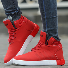 Unisex High Tops Men Autumn Winter Boots Men Winter Snow Boots Couple Warm Casual Winter Shoes Men Botas size 36-44