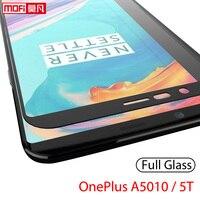 OnePlus-Protector de pantalla para móvil, película templada de vidrio para Oneplus 5T, One Plus, A5010, 2.5D, Mofi, Ultra delgada, 9H, cubierta completa, Original, OnePlus 5T