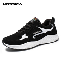 NOSSICA Mens Casual Shoes Hot Sale Trainers For Men Lace up Breathable Fashion Summer Autumn Flats Male Shoes Adult Sneakers
