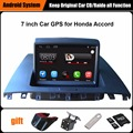 Actualizado original juego reproductor multimedia del coche de navegación gps del coche para honda accord 2003-2007 ayuda wifi smartphone espejo-enlace