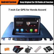 Upgraded Original Car multimedia Player Car GPS Navigation Suit to Honda accord 2003-2007 Support WiFi Smartphone Mirror-link