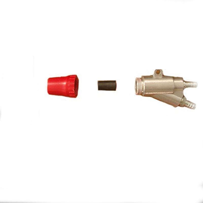 A1 type Sandblaster air SandBlasting Tool gun Kit with 35*20*6mm boron carbide B4C Sandblaster nozzle for SandBlasting Machine 35 20 3mm boron carbide sandblasting gun nozzle air sandblaster tip for sandblast cabinet tool