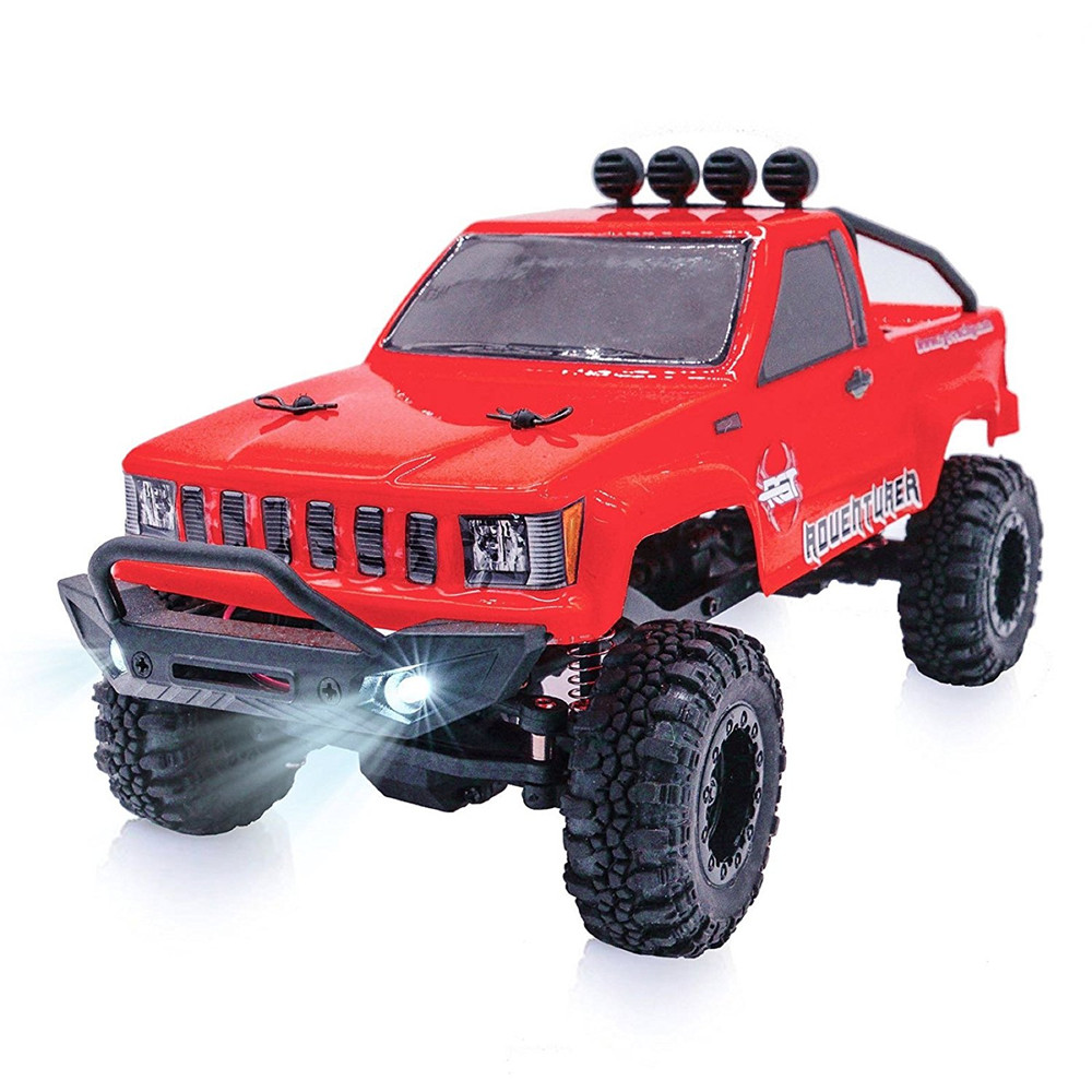 RGT Rc Car 1/24 Scale 4wd Off Road Rc Crawlers 4x4 Lipo mini Monster Truck RTR Rock Crawler With Lights