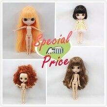 Desnudo Blyth muñeca Adecuado Para vestir por usted mismo DIY Cambio BJD Juguetes Para Niñas Fábrica Blyth precio especial