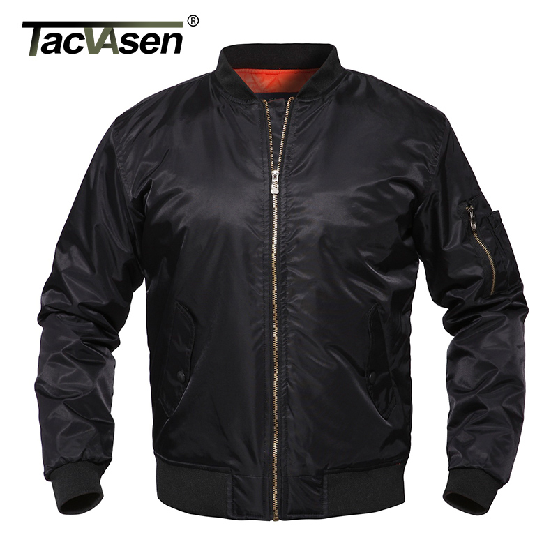 TACVASEN Spring Men Bomber Jacket Army Green Military Pilot Jacket Men's Autumn Air Force Flight Jacket Coat TD-LXZ-001 кашпо gift n home сирень
