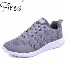 ФОТО fires men sneakers for women sports running shoes large size unisex outdoor trending light walking shoes zapatillas de deporte