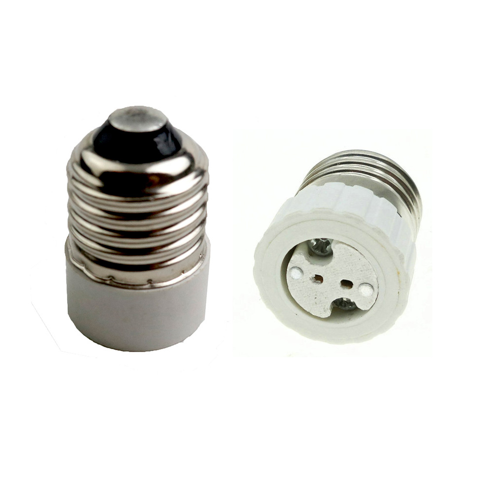 Lamp Holder Adapter Converter E27 To MR16  E27 Lamp Holder LED Light Lamp Adapter Screw Socket E27 To GU5.3 G4 Easy To Install