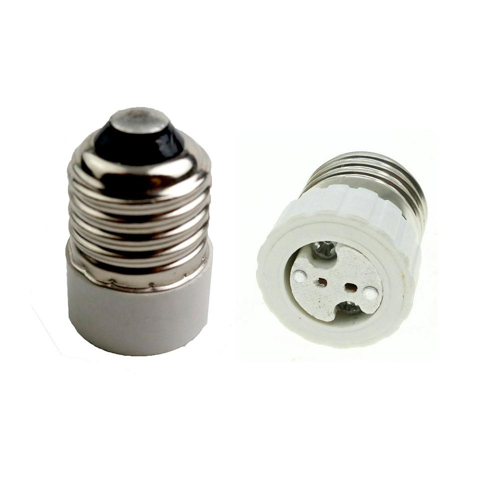 Lamp Holder Adapter Converter E27 To MR16  E27 Lamp Holder LED Light Lamp Adapter Screw Socket E27 To GU5.3 G4 Easy To Install