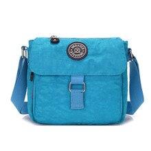 Frauen Nylon Umhängetaschen Crossbody Messenger Bags Lässig Reise Handtasche