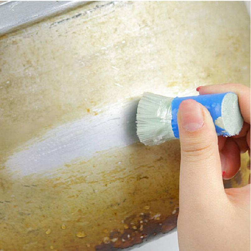 Saingace дом LC Новый 1 шт. Нержавеющаясталь стержень Magic Stick ржавчины очистки для удаления мыть кисти протрите горшок 18Apr24 дропшиппинг
