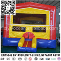 Multi Coloured Inflatable Castle Bounce House / inflatable bounce for sale