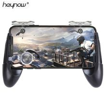 HEYNOW Gamepad Joystick for pubg Mobile Controller L1 R1 Shoot Handle Gamepad for Knives Out Trigger fire game joystick(China)