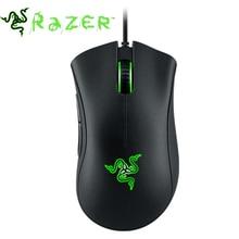 Razer deathadderの2013、6400 dpi、syanspe 2.0、ゲーミングマウス、ブランドの新しい、fast送料無料、